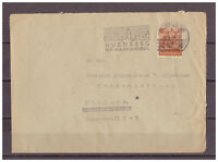 Alliierte Besetzung MiNr. 44 I EF MA-St Nürnberg - soll wieder ersten 18.08.1948