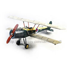 Handmade WW1 Sopwith Camel F1 Fighter Antique Style Metal Model