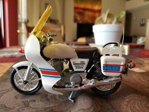 1979 POLISTIL NORTON 850 COMMANDO POLICE MOTORCYCLE DIECAST 1:15