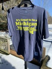 Its Great To Be A Michigan Wolverine Shirt Adidas XL Super Soft
