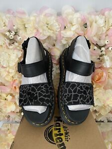 Dr Martens Leather Voss Animal Leopard Print,UK 3, BRAND NEW, Discontinued, RARE