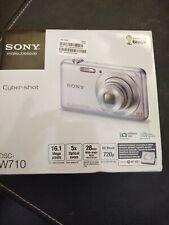 Sony Cyber-Shot DSC-W710 16.1 MP Compact Digital Camera - Silver