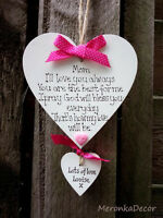 I'll love you always Personalised Grandma/Mum/Mummy-Mothers Day- Handmade-10 cm