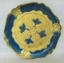 Made in Italy Fancy Hard plastic Coaster or trinket tray VINTAGE