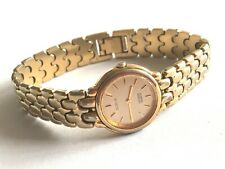 Vintage Citizen Noblia Womens Wrist Watch Gold Plated  YP 2200-228928 K