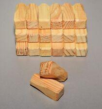10 Ziernägel Abdeckkappe Holznägel Fachwerknägel Eiche 16x16x45 neu