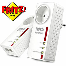 AVM Fritz! Powerline 1220e-set-bridge-GigE, homeplug av (Hpav) 1200 Mbit/s