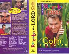 REMEMBER THE LORD COLIN BUCHANAN VHS PAL VIDEO~A RARE FIND