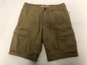 Abercrombie & Fitch Men's Brown Casual Cargo Combat Casual Shorts W30    A106
