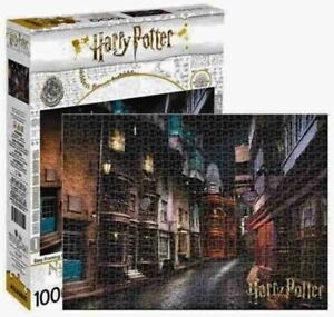 1000 piece HARRY POTTER - DIAGON ALLEY Licensed Jigsaw Puzzle J K Rowling