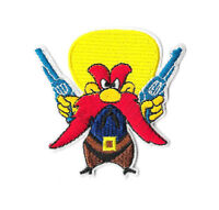 YOSEMITE SAM Iron on / Sew on Patch Embroidered Badge Cartoon Motif PT410