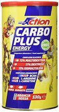 Proaction Carbo Plus Energy Arancia Rossa Integratore alimentare 530 G