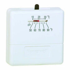 Honeywell Ts812A1007 Non-Programmable Thermostat, Heat Only, Positive Off, Mi.