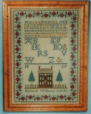 Scarlett Letter Heloise Williams Sampler Linen Embroidery Kit Reproduction