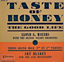 LLOYD G. MAYERS taste of honey/the good life ART BLAKEY three blind mice EP VG++