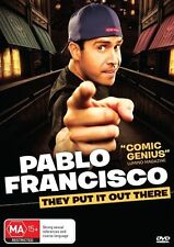 Pablo Francisco - They Put It Out There (DVD, 2011)-REGION 4-	Free postage