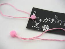 50 * Rosa Etiqueta Colgante Cadena de cierre rápido Sujetador de etiquetado y etiquetado de los suministros