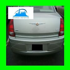 2005-2010 CHRYSLER 300 300C PRECUT CHROME TRUNK TRIM MOLDING 05 06 07 08 09 10