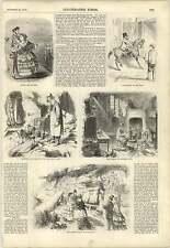 1857 St Leonards On The Sea Crusoe's Hut East Cliff Lovers Seat Fairlight