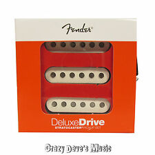 Fender Deluxe Drive Stratocaster Pickup Set White Strat Bridge Middle Neck NEW