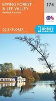 Epping Forest & Lee Valley (OS Explorer Map) New Map Book Ordnance Survey