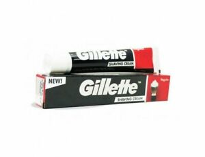 Neuf Gillette Standard Rasage Crème Doux Lisse Raser (70 GM) Gratuit Livraison