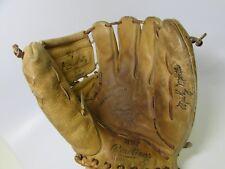 Vintage Rawlings Baseball Glove Mitt Mickey Mantle