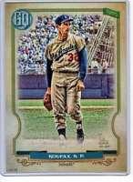 Sandy Koufax 2020 Topps Gypsy Queen 5x7 #315 /49 Dodgers