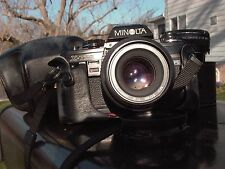 Minolta X-700 w/50mmF:2  w/28mmF:2.8 w/200X flash w/ Pro MC 2x w/case w/Booklet