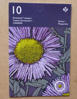 2017 CANADA FLOWERS STAMP BOOKLET 10 STAMPS