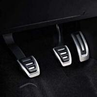 Car Gas Fuel Brake Clutch Foot Pedal For  VW Volkswagen Tiguan 2017 Manual 3pcs