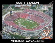 Virginia Cavaliers - Scott Stadium - Flexible Fridge MAGNET