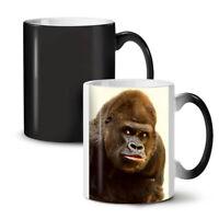 Monkey Photo NEW Colour Changing Tea Coffee Mug 11 oz | Wellcoda