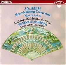 Bach: Brandenburg Concerti 3,4,5, - (Compact Disc)