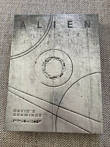 Alien Covenant: David's Drawings by Dane Hallett, Hardback, brand new and sealed