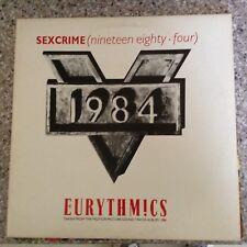 EURYTHMICS - Sexcrime (nineteen eighty four)  - LP Record Album Exc Cond