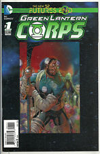 GREEN LANTERN CORPS FUTURES END  #1  NM  (3D COVER)