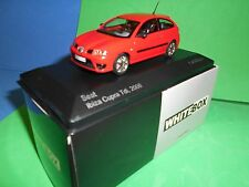 CORGI VANGUARD /WHITEBOX SEAT IBIZA CUPRA TDI 2006 IN RED M/B