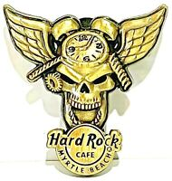 Hard Rock Cafe Myrtle Beach Pin 3D Winged Skull Series 2007 HRC LE NEW # 39114