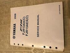 2008 Yamaha FJR13AX FJR13AEX (C) Service Repair Shop Workshop Manual FACTORY Oem
