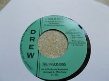 THE PRECISIONS IF THIS IS LOVE  45 NORTHERN SOUL