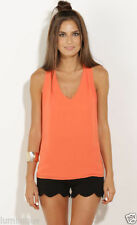 Polyester Career Tank, Cami Hand-wash Only Tops & Blouses for Women