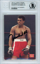 Muhammad Ali Autographed Signed 1991 All World Card Beckett BAS #10982638
