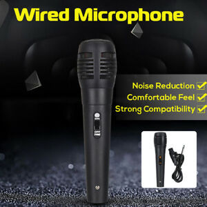 Microphone Vocal Karaoke Wired Mic Uni-directional Dynamic Handheld Professional
