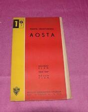 Mappa Pianta Granturismo Aosta Ist. Geo. Visceglia 1:5.000 (61-L19)
