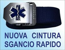 Nuova Cintura croce Esculapio Italia Volontariato, Sanità, Militare soccorritore