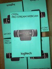 Logitech C922X Pro Stream Webcam - Black