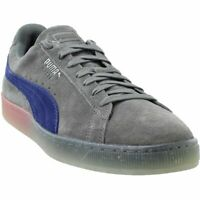 Puma Suede Summer Nights Fade Sneakers - Grey - Mens