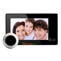 """Wireless 4.3"""" Video Door Bell Digital Peephole Phone Doorbell Intercom Camera"""