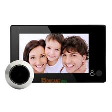 "Wireless 4.3"" Video Door Bell Digital Peephole Phone Doorbell Intercom Camera"